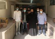 Πάτρα: Aντιπροσωπεία φοιτητών του Πανεπιστημίου επισκέφθηκε το κελάρι της αγάπης