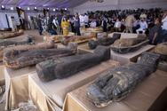 Αίγυπτος - Βρέθηκαν 59 καλά διατηρημένες σαρκοφάγοι ηλικίας 2.600 χρόνων