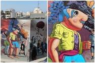 Το mural του KLE στο 7ο Γυμνάσιο της Πάτρας ολοκληρώθηκε (φωτό)