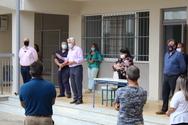 Δυτική Αχαΐα: Ο Σπύρος Μυλωνάς επισκέφθηκε το Γυμνάσιο Ριόλου