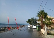 Ο κίνδυνος για ατυχήματα, στη δυτική παραλιακή της Πάτρας... καραδοκεί!