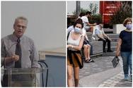 Γώγος: 'Την τελευταία εβδομάδα 57 κρούσματα στην Αχαΐα - Μικρή η πιθανότητα μετάδοσης αν φορούν όλοι μάσκα'
