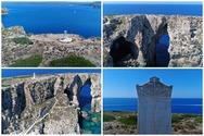 Τσιχλί Μπαμπά: Το 'κατακόρυφο' ελληνικό νησί όπου είναι θαμμένοι Γάλλοι και ο ανιψιός του Ναπολέοντα (video)