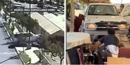 Φρικτό τροχαίο στην Καλιφόρνια - Μία νεκρή και επτά τραυματίες (video)
