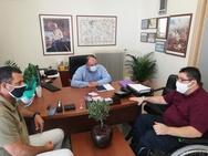 Π.ΟΜ.Α.μεΑ Δ.Ε. & Ν.Ι.Ν.: Συνάντηση με Διευθυντή Πρωτοβάθμιας Εκπαίδευσης Αχαΐας