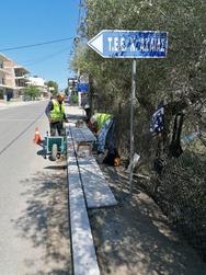 Δήμος Δυτικής Αχαΐας: Πλακοστρώσεις στο κέντρο και έλεγχοι στα πεζοδρόμια
