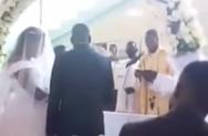 Χαμός σε γάμο: Γυναίκα μπούκαρε στην εκκλησία ζητώντας να ακυρωθεί (video)