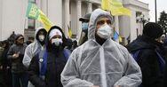 Ουκρανία - Κορωνοϊός: Ρεκόρ με 5.992 κρούσματα σε ένα 24ωρο