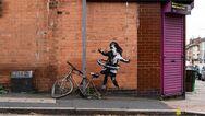 Νέο έργο του Banksy σε τοίχο στο Νότιγχαμ