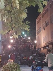 Χαμός από κόσμο στις σκάλες της Πάτρας - Μεγάλη επιχείρηση της ΕΛ.ΑΣ.