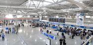 «Βουτιά» 68,9% στην επιβατική κίνηση στα αεροδρόμια της χώρας