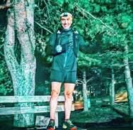 Ο Νίκος Τσαμπράς του Σ.Μ.ΑΧ. Φειδιππίδη στο «Rodopi Ultra Trail 174 χλμ»