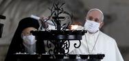 Ο Πάπας Φραγκίσκος έβαλε μάσκα για πρώτη φορά σε δημόσια λειτουργία