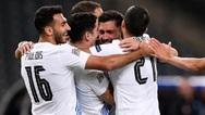 Εθνική Ελλάδας: Παρέμεινε 54η στην παγκόσμια κατάταξη της FIFA