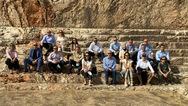 Η Επιτροπής Ηγεσίας του Ελληνο-Αμερικανικού Εμπορικού Επιμελητηρίου στις εγκαταστάσεις Σαρακάκη