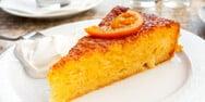 Συνταγή για σιροπιαστή πορτοκαλόπιτα