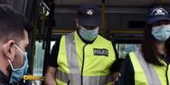 Πάτρα: Μπαράζ ελέγχων από αστυνομικούς σε λεωφορεία, ταξί και Ι.Χ.