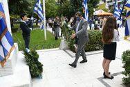 Πάτρα: Η Δημοτική Αρχή παρευρέθηκε στις εκδηλώσεις για την 28η Οκτωβρίου (φωτο)