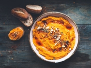 Συνταγή για χούμους από κολοκύθα