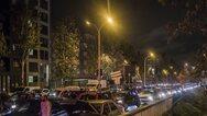 Γαλλία - Covid 19: Ρεκόρ μποτιλιαρίσματος στο Παρίσι λόγω μαζικής εξόδου των πολιτών πριν το lockdown