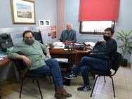 Πάτρα: Συνάντηση του ΣΚΕΑΝΑ με τον Διονύση Πλέσσα