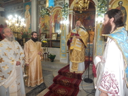 Πάτρα: Mε λαμπρότητα εορτάστηκε η ανακομιδή των Ιερών Λειψάνων του Αγίου Γεωργίου του Τροπαιοφόρου (φωτο)
