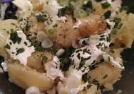 Συνταγή για μία γρήγορη πατατοσαλάτα