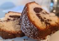 Κέικ βανίλια σοκολάτα