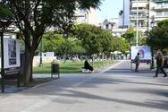 Πάτρα: Η πλατεία Υψηλών Αλωνίων 'πλημμύρισε' με εικαστικά έργα για το Πολυτεχνείο (pics)
