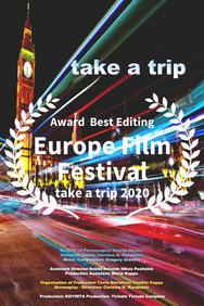 Βραβείο μοντάζ στον Χρήστο Καρακάση για την ταινία take a trip στο Europe Film Festival