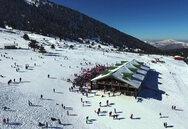Ετοιμάζονται στο Χιονοδρομικό Κέντρο Καλαβρύτων - Δείτε βίντεο