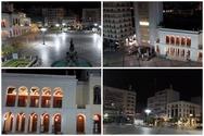 Η πλατεία Γεωργίου που ήταν γεμάτη από ζωή, άδεια και έρημη (βίντεο)