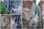 Αχαΐα - Το χωριό Πουρναρόκαστρο έχει τον δικό του καταρράκτη (video)
