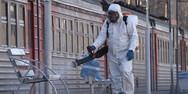 Κορωνοϊός - Ρωσία: 24.326 κρούσματα και 491 θάνατοι σε 24 ώρες