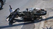 Νέο τροχαίο στην Πάτρα - ΙΧ συγκρούστηκε με δίκυκλο