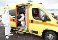Κορωνοϊός: Πέντε ασθενείς από Κεντρική Ελλάδα διακομίστηκαν στα νοσοκομεία της Πάτρας
