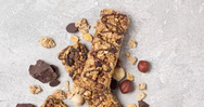 Mπάρα δημητριακών με σοκολάτα