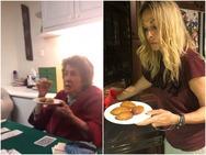 Άννα Βίσση: Το απολαυστικό βίντεο με τη μαμά της να δοκιμάζει τα μελομακάρονα που έφτιαξε! (video)