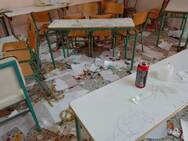 Δυτ. Ελλάδα: Μπήκαν σε σχολείο και κατέστρεψαν ότι βρήκαν (φωτο)