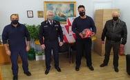 ΟΛΠΑ: Δωρεά προστατευτικών κρανών σε Υπηρεσίες της Διεύθυνσης Αστυνομίας Αχαΐας