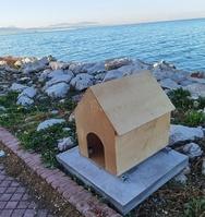 Πάτρα: Μπήκαν και πάλι στη θέση τους τα σπιτάκια για τις γάτες