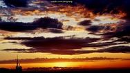 Πάτρα - Τα 'ματωμένα' χειμωνιάτικα δειλινά του Δεκέμβρη (φωτο)
