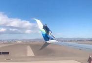 «Λαθρεπιβάτης» σκαρφάλωσε στο φτερό αεροπλάνου πριν την απογείωση (video)