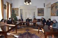 Πάτρα: Οι εργαζόμενοι του Εικαστικού Εργαστηρίου συναντήθηκαν με τον Δήμαρχο (φωτο)