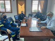 Σύσκεψη Δημάρχου Ναυπακτίας Β. Γκίζα και Περιφερειακού Διοικητή ΠΥ Δ. Ελλάδας Ν. Ρουμελιώτη