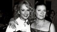 Αλίκη Βουγιουκλάκη και Τζένη Καρέζη μαζί σε μια σπάνια φωτογραφία