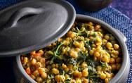 Μαγειρέψτε ρεβιθάδα με σπανάκι