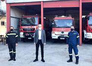 Ο Άγγελος Τσιγκρής επισκέφθηκε τη Διοίκηση Πυροσβεστικών Υπηρεσιών Αχαΐας