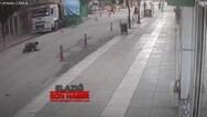 Τουρκία: Άνδρας πέφτει από παράθυρο για να σωθεί από τον σεισμό (video)
