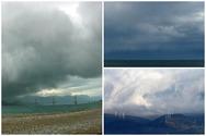 Το εντυπωσιακό shelf cloud πάνω από τον Πατραϊκό - Δείτε βίντεο